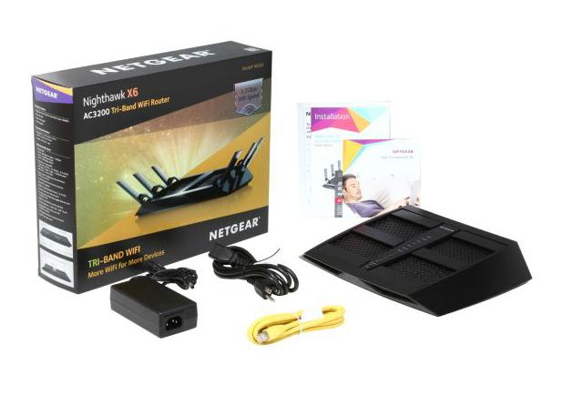 NETGEAR R8000 Nighthawk X6 AC3200 Simultaneous Tri-Band WiFi