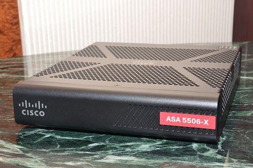 Cisco ASA 5506-X with FirePOWER Services