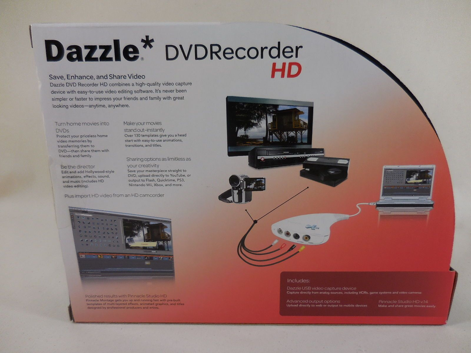 dazzle dvd recorder hd convert from vhs to dvd. Black Bedroom Furniture Sets. Home Design Ideas