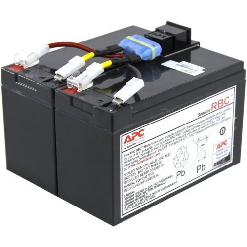 APC RBC48 UPS Replacement Battery Cartridge for SMT750, SUA750 and select  others, Replacement Battery Cartridge